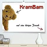 KramBam und seine baerigen Freunde(Premium, hochwertiger DIN A2 Wandkalender 2020, Kunstdruck in Hochglanz): Die Teddybaeren-Bande (Monatskalender, 14 Seiten )