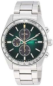 [セイコー セレクション]SEIKO SELECTION 腕時計 SEIKO SELECTION クオーツウオッチ50周年記念 限定500本(国内のみ) ソーラークロノグラフ付き グリーングラデーション文字盤 サファイアガラス SBPY153 メンズ