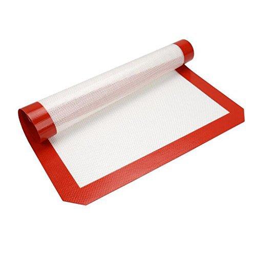 Dazers シリコン製ベーキングマット 繰り返し使用可能オーブン、電子レンジ対応