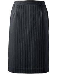[セシール]スカート丈が選べるスーツタイトスカート(事務服?洗濯機OK) レディース