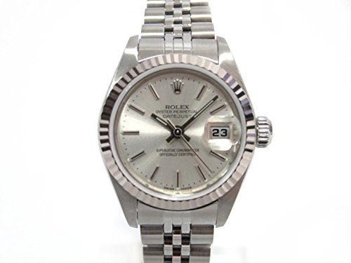 [ロレックス] ROLEX デイトジャスト 腕時計 ウォッチ シルバー K18WG(750)ホワイトゴールド x ステンレススチール(SS) 79174 [中古]