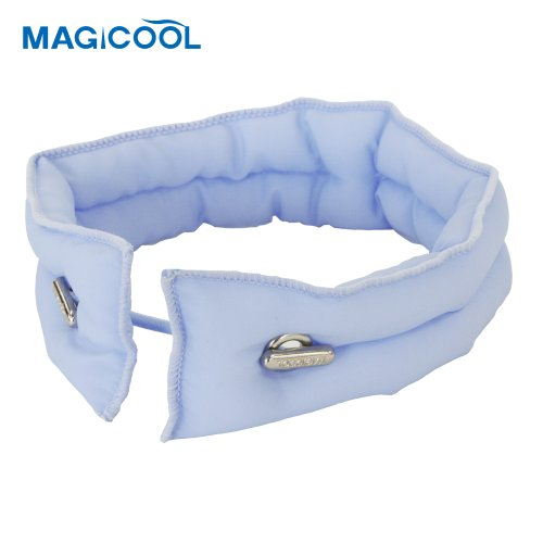 冷感スカーフ マジクール ソフト&ドライ ライトブルー Sサイズ(1コ入)