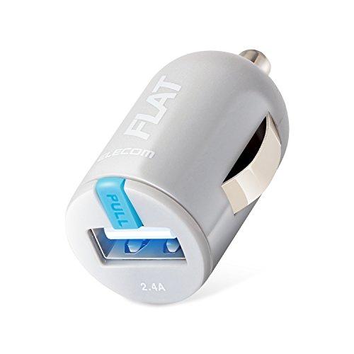 [해외]엘레 컴 차량용 충전기 차량용 충전기 급속 컴팩트 iPhone &  android &  IQOS &  glo 대응/Elecom car charger car charger Quick compact iPhone &  Iro and & IQOS &  glo compatible