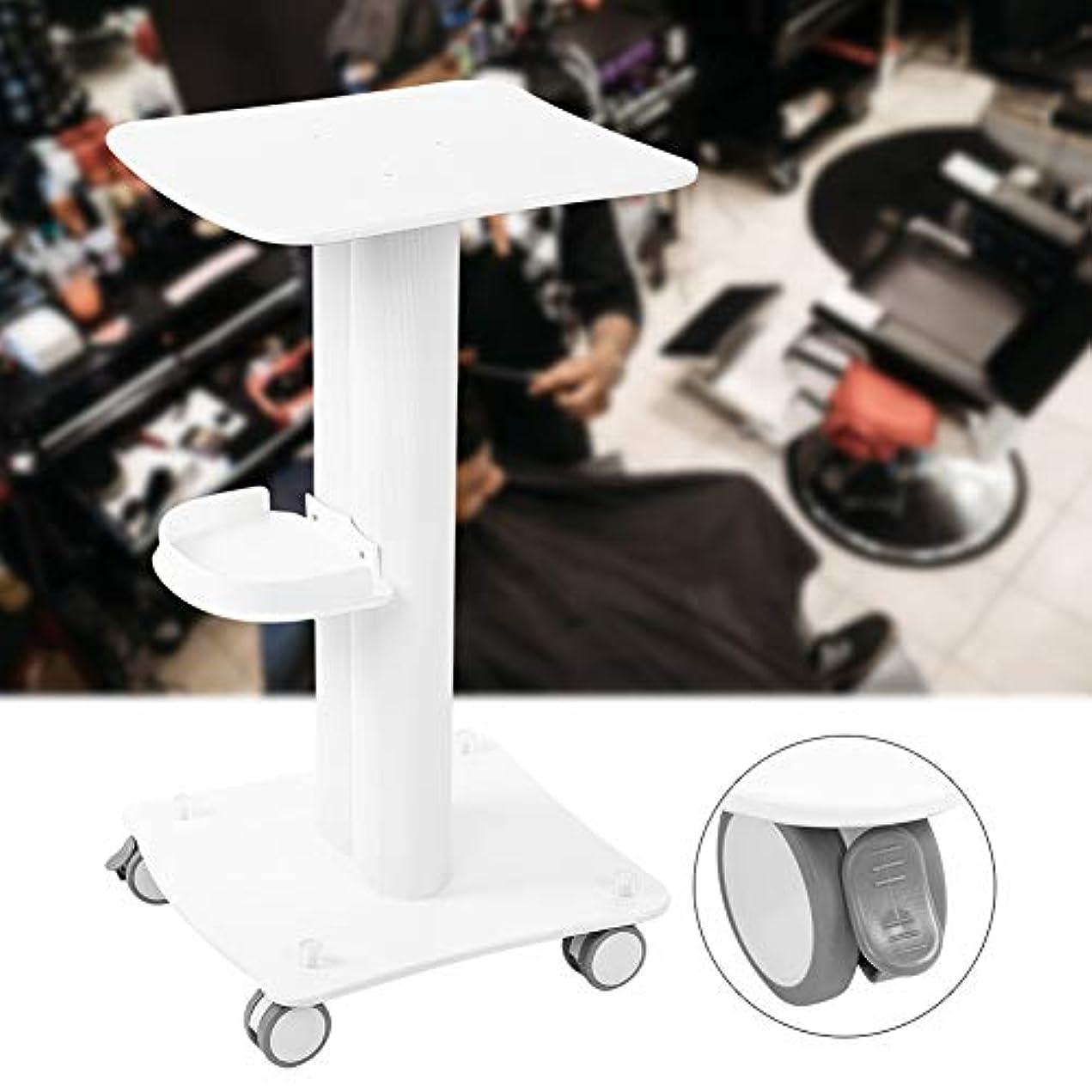 観察印象派語美容院のトロリー、ポリ塩化ビニールの大広間の使用台の圧延のカートの車輪の美容院の大広間のためのアルミニウム立場