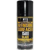 【 サーフェイサー 1500 ブラック 】 csB526/ メタリック & 黒立ち上げ 塗装下地に スプレータイプ Mr.ホビー