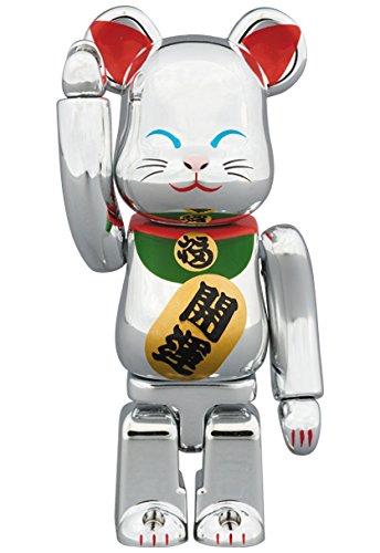 東京ソラマチ x 招き猫 銀メッキ 弐  BE@RBRICK ベアブリック 100%