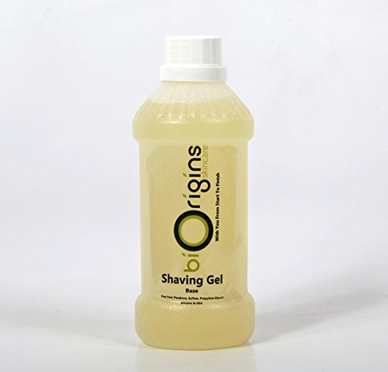 歯車肉落ち着くShaving Gel S&P Free - Botanical Skincare Base - 500g