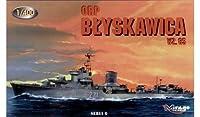 ミラージュホビーBlyskawica Wz。65Polish Destroyerモデルキット