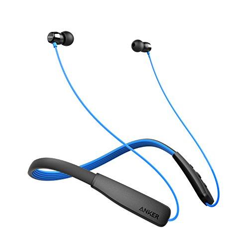 Anker SoundBuds Lite (ネックバンド型Bluetoothイヤホン)【12時間の連続通話 / IPX5防水規格 / マイク内蔵】(ブルー)
