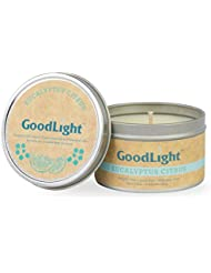 GoodLight paraffin-free香りつきTravel Tin Candles TT6-EUC