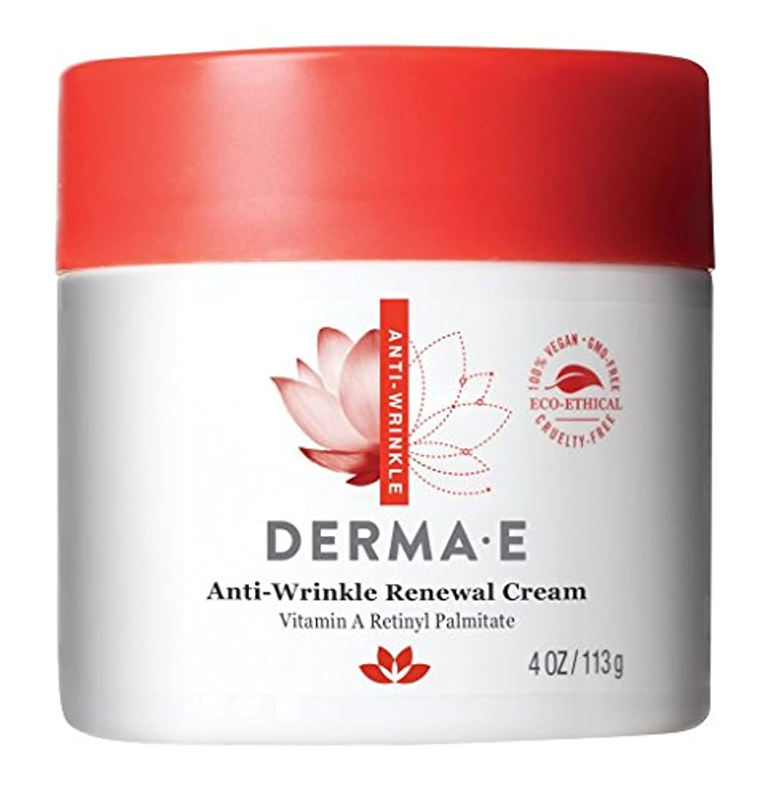 勤勉微視的第三Derma E, Anti-Wrinkle Vitamin A Retinyl Palmitate Cream, 4 oz (113 g)