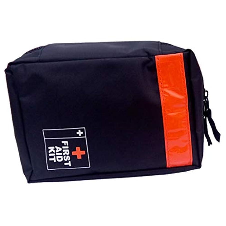 遺体安置所爆弾更新First aid kit 屋外登山ポータブル応急処置キット折りたたみ医療キット屋外、家族、車、旅行/ 17 x 12.5 x 6 CMに適した XBCDP