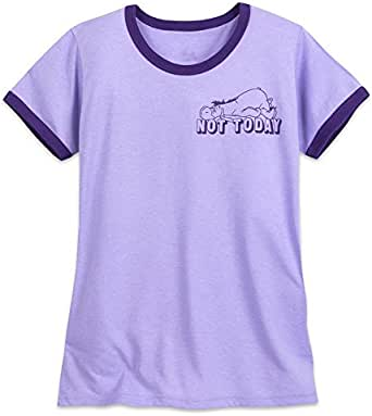 Disney(ディズニー) イーヨー Tシャツ レディーズ レディースUS M (日本のL) [並行輸入品]