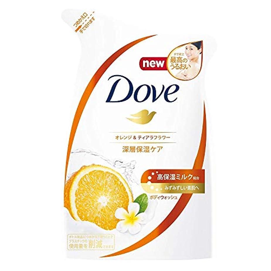Dove ダヴ ボディウォッシュ オレンジ & ティアラフラワー つめかえ用 360g × 12点