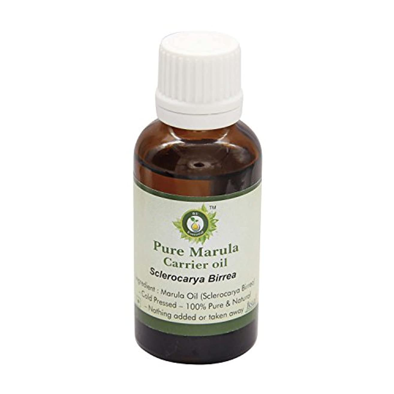 慣性挽く休眠R V Essential 純粋なMarulaキャリアオイル100ml (3.38oz)- Sclerocarya Birrea (100%ピュア&ナチュラルコールドPressed) Pure Marula Carrier Oil