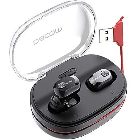 【2/16まで】DACOM ケーブル一体型充電ケース付属、完全ワイヤレスBluetoothイヤホン 1,899円送料無料!