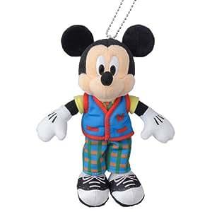 東京ディズニーランド34周年 記念グッズ ミッキーマウス ぬいぐるみバッジ【東京ディズニーリゾート限定】