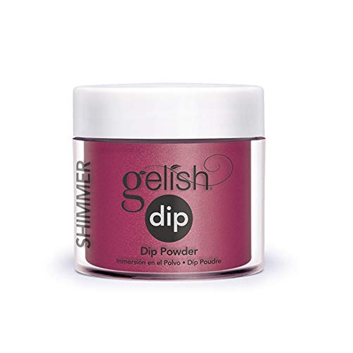 全滅させる弾性不一致Harmony Gelish - Acrylic Dip Powder - What's Your Pointsettia? - 23g / 0.8oz