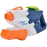 ウォーターガン 水てっぽう 水鉄砲 超強力飛距離 10m以上 – Happytime ポンプアクション 1500cc 男の子に人気 チーム対戦に最適 夏の定番 おもちゃ 知育玩具