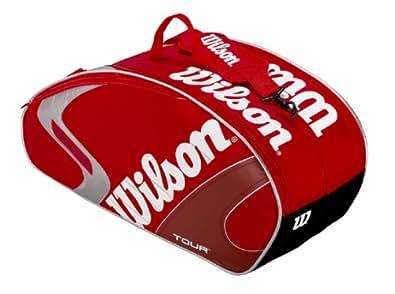 Wilson(ウイルソン) テニスバッグ [K] TOUR 6PK RED Z8072