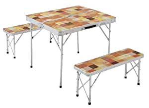 コールマン テーブル ナチュラルモザイクファミリーリビングセット/ミニ 2000014235
