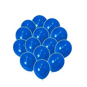 チャーミィパック ゴム風船 25cm 丸型 ブルー 50枚入 KIS23107