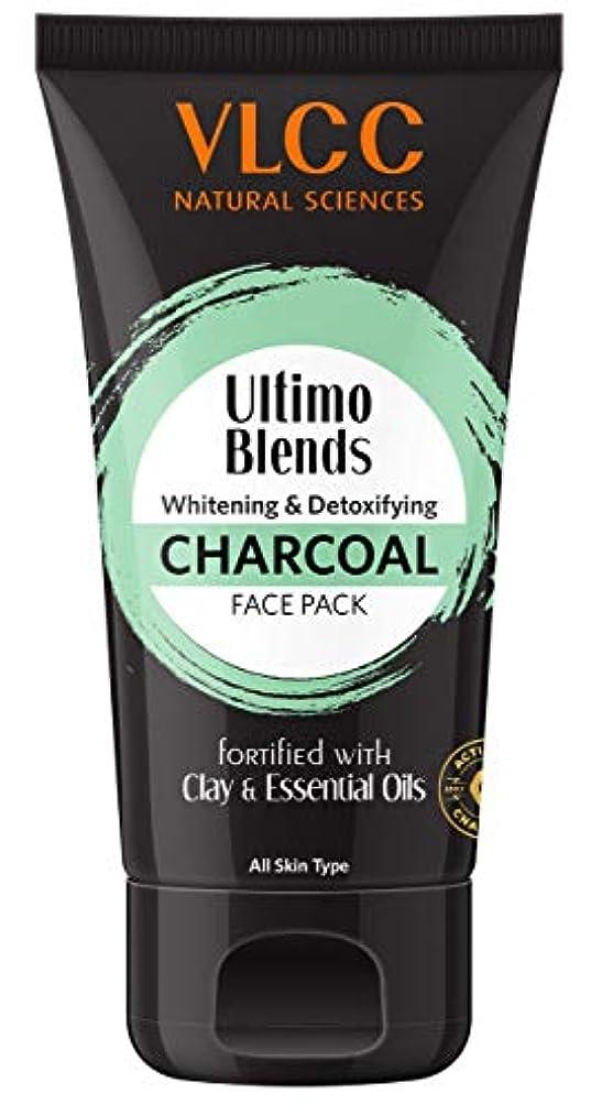 テレックスはねかける代わりのVLCC Ultimo Blends Charcoal Face Pack, 100g