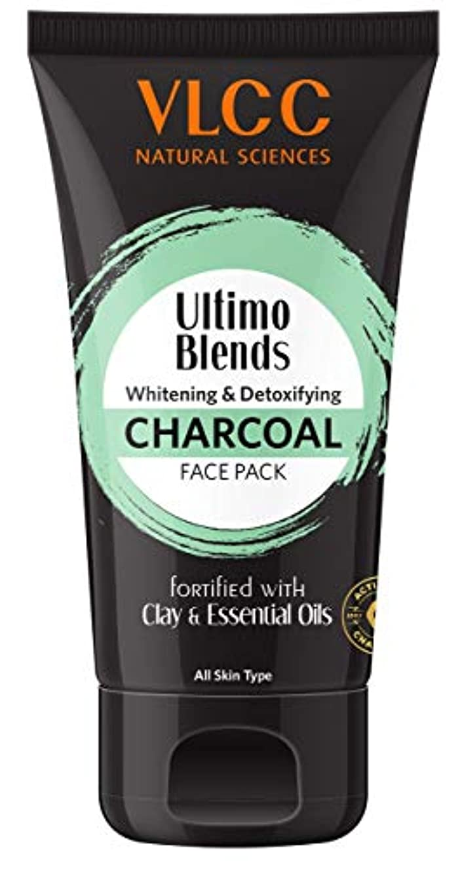 ビリーヤギアーティファクト有毒なVLCC Ultimo Blends Charcoal Face Pack, 100g
