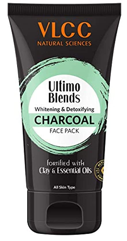 縁石決めます高めるVLCC Ultimo Blends Charcoal Face Pack, 100g