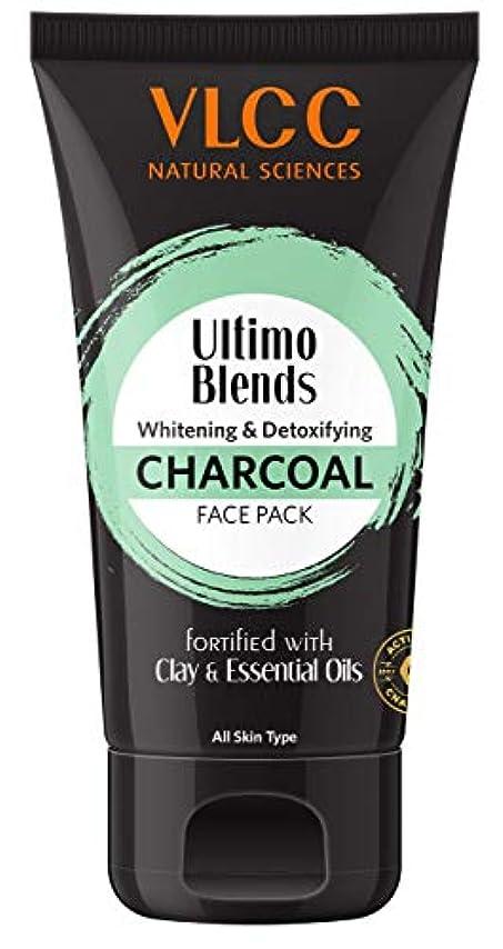 バインド祖母矢VLCC Ultimo Blends Charcoal Face Pack, 100g