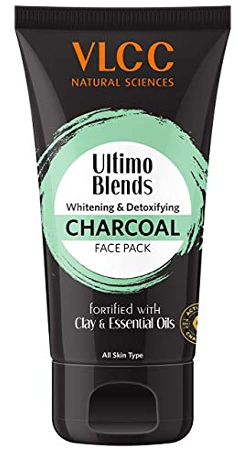 ウガンダ遺産エレベーターVLCC Ultimo Blends Charcoal Face Pack, 100g