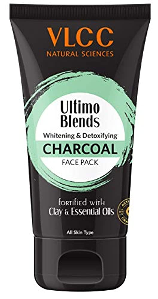 キャラクター増幅バインドVLCC Ultimo Blends Charcoal Face Pack, 100g