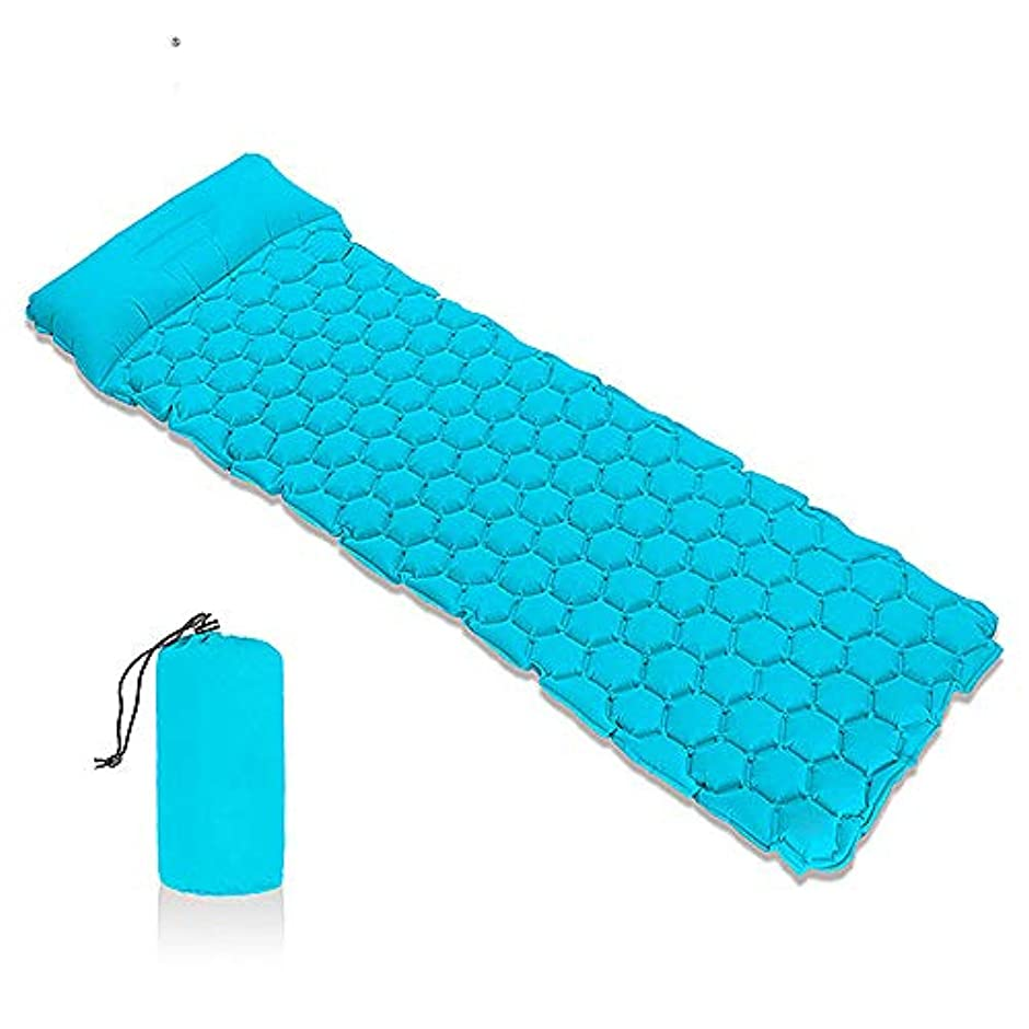 救出同盟大学院キャンプの睡眠のパッド、膨脹可能なキャンプのマットの快適で軽量の空気細胞の設計屋外のハイキングのマットレス