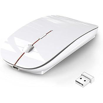 ワイヤレスマウス 静音 無線 マウス 超薄型 USB充電接続 省エネルギー 2.4GHz 3DPIモード 高精度 持ち運び便利 Mac/Windows/surface/Microsoft Proに対応