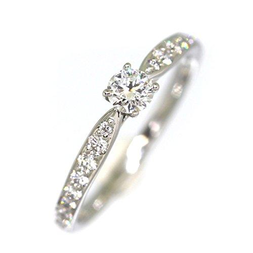(ティファニー)TIFFANY&Co. ハーモニー ハーフサークル 0.20ct D IF EX リング・指輪 ダイヤモンド/プラチナPT950 レディース 中古
