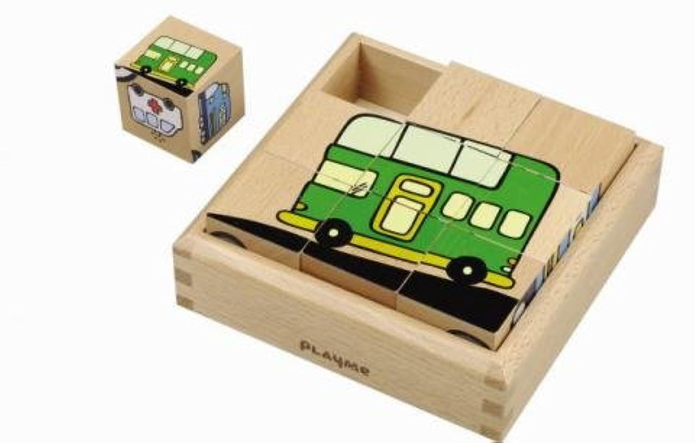 PlayMe Toys B0902 のりものパズル