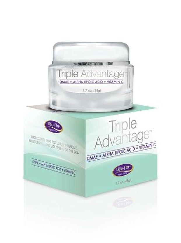 接続委員長テレビ海外直送品 Life-Flo Triple Advantage Cream, 1.7 OZ