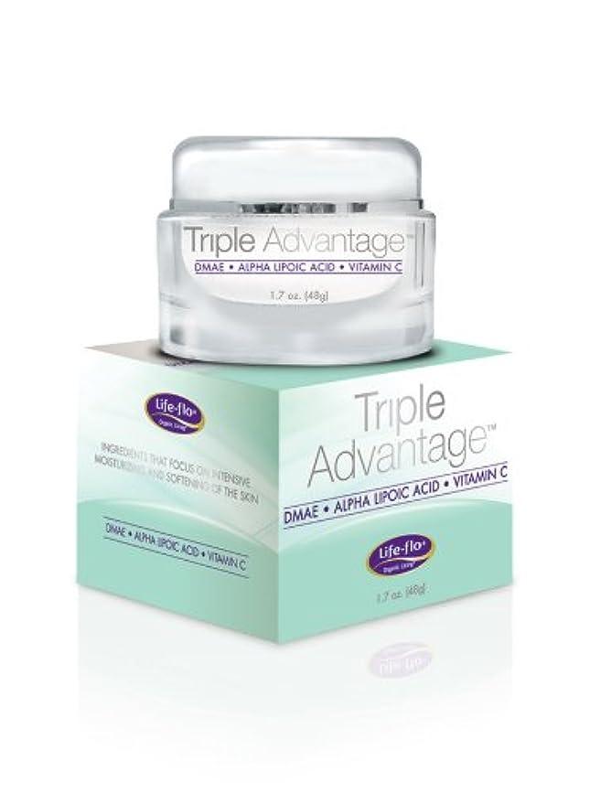 見る人新年できた海外直送品 Life-Flo Triple Advantage Cream, 1.7 OZ