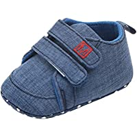 Weixinbuy Newborn Baby Boy's Soft Sole Anti-Slip Casual Sneaker Shoes Prewalker