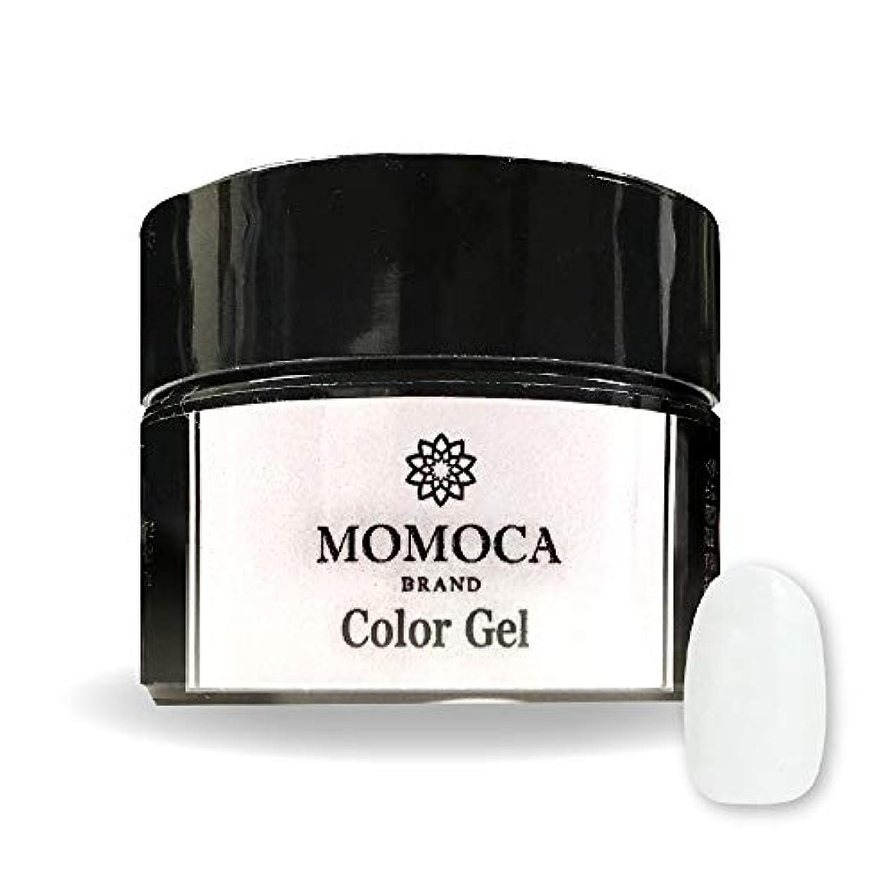 引き出しブレース生活MOMOCA モモカ ジェルネイル サロン品質 高発色 長持ち プロ仕様 ネイルサロン ネイリスト (004S See-through white シースルーホワイト)