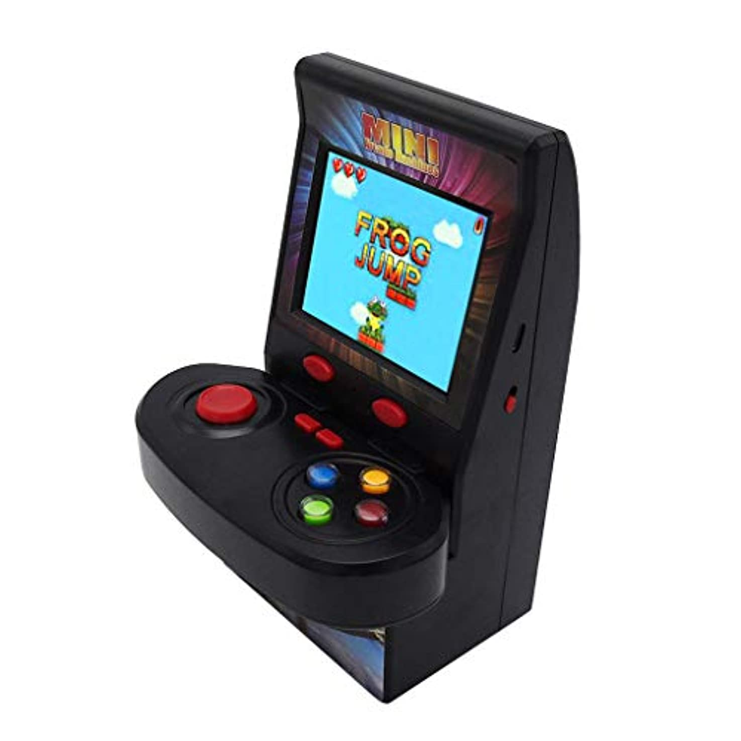 禁止歴史的立派な携帯ゲーム機 ゲームプレーヤー ワイヤレスジョイスティック アーケードゲーム コンソール シングルハンドル ゲームコンソール ノスタルジック100ゲームhuajuan