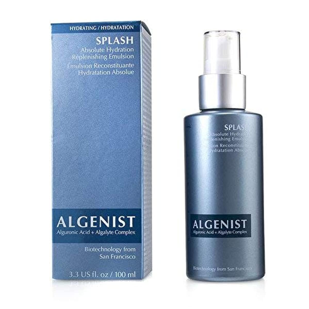 紳士気取りの、きざなポルノ梨アルゲニスト SPLASH Absolute Hydration Replenishing Emulsion 100ml/3.3oz並行輸入品
