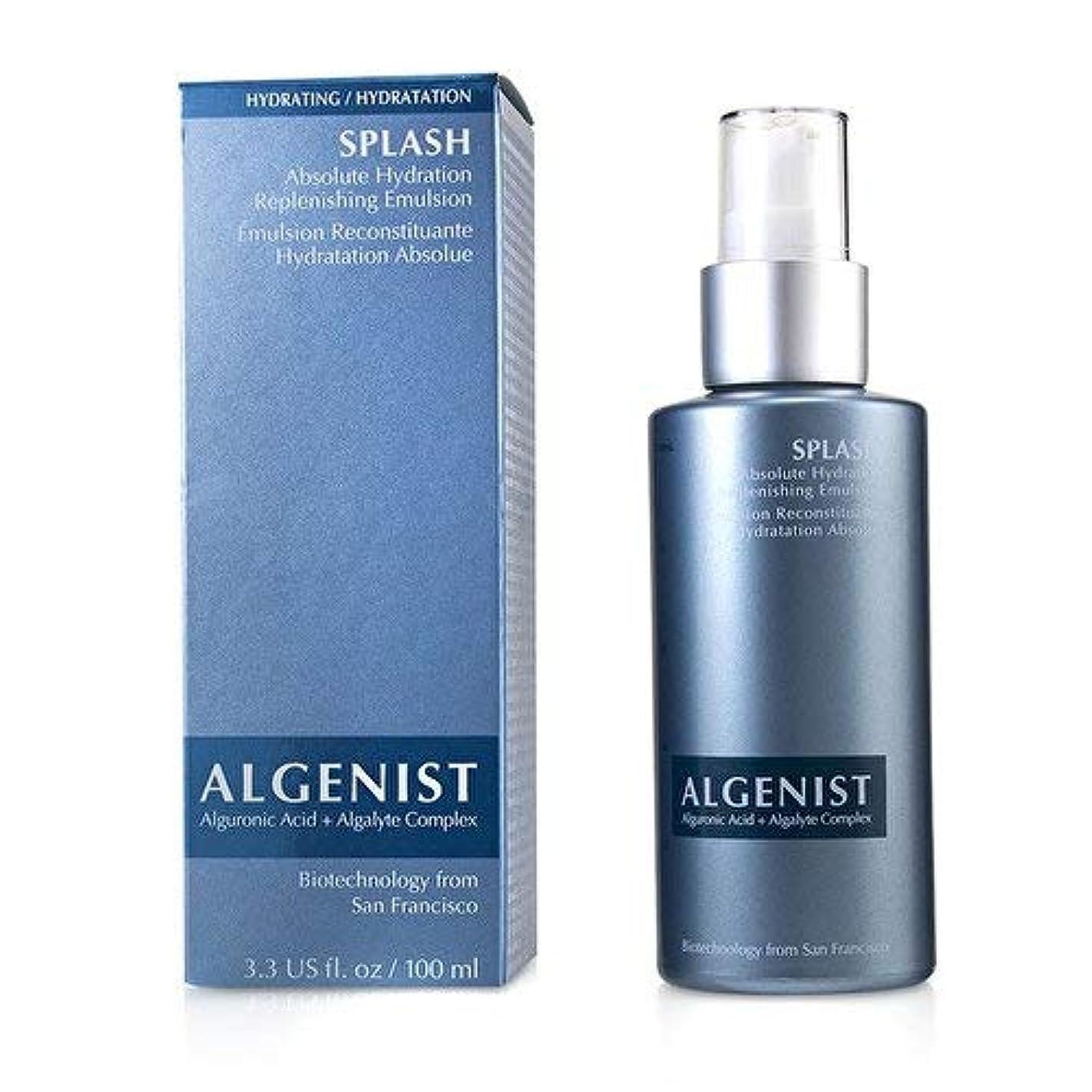 。普通に高潔なアルゲニスト SPLASH Absolute Hydration Replenishing Emulsion 100ml/3.3oz並行輸入品