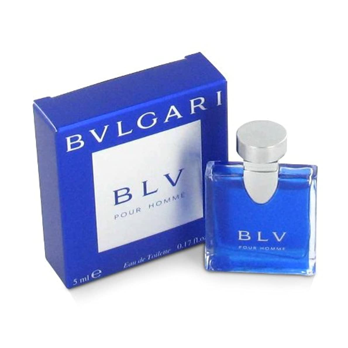 引き渡すマグ抵抗力があるブルガリ ブルー プールオム オーデトワレ 5ml(ミニ香水)