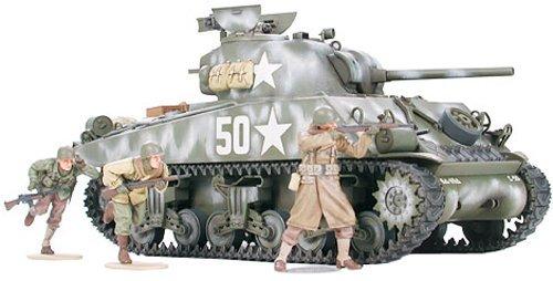 1/35 ミリタリーミニチュアシリーズ M4A3シャーマン 前線突破