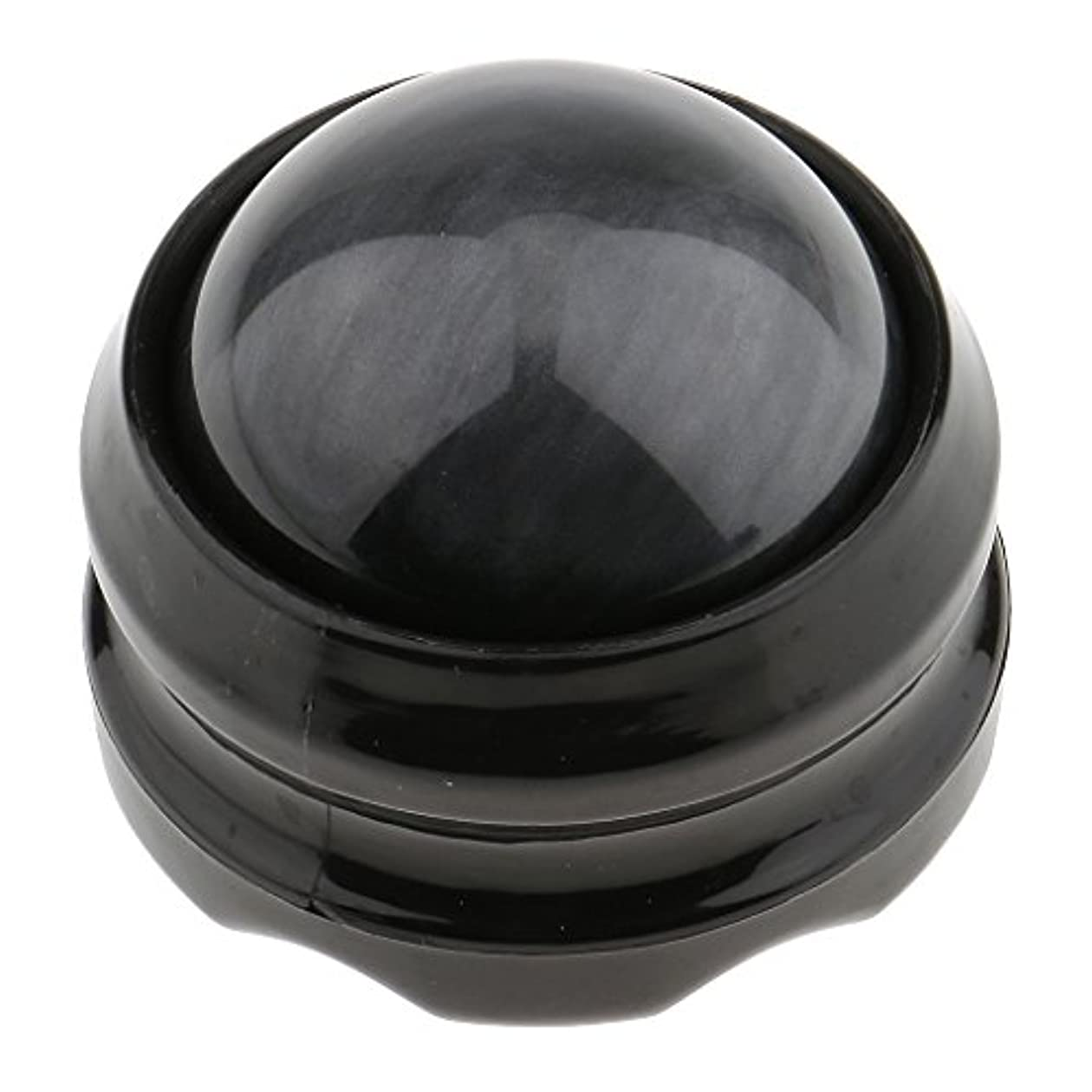 アクセルコードレス興奮するSONONIA マッサージ ローラーボール ボディ バック ネック フット セルフマッサージ ツール 全4色 - グレーブラック
