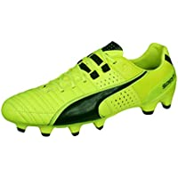 PUMA Mens Firm Ground Soccer Cleats Spirit II FG Leather Football Boots