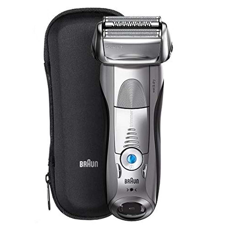 申込み上送ったブラウン メンズ電気シェーバー シリーズ7 7893s 4カットシステム 水洗い/お風呂利用可 7893s