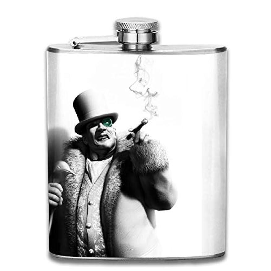 罰する貨物実験をするブルームン 人 タバコ 煙 酒器 酒瓶 お酒 フラスコ ボトル 携帯用 フラゴン ワインポット 7oz 200ml アウトドア 登山 贈り物 ステンレス製 おしゃれ 漏れない メンズ U型