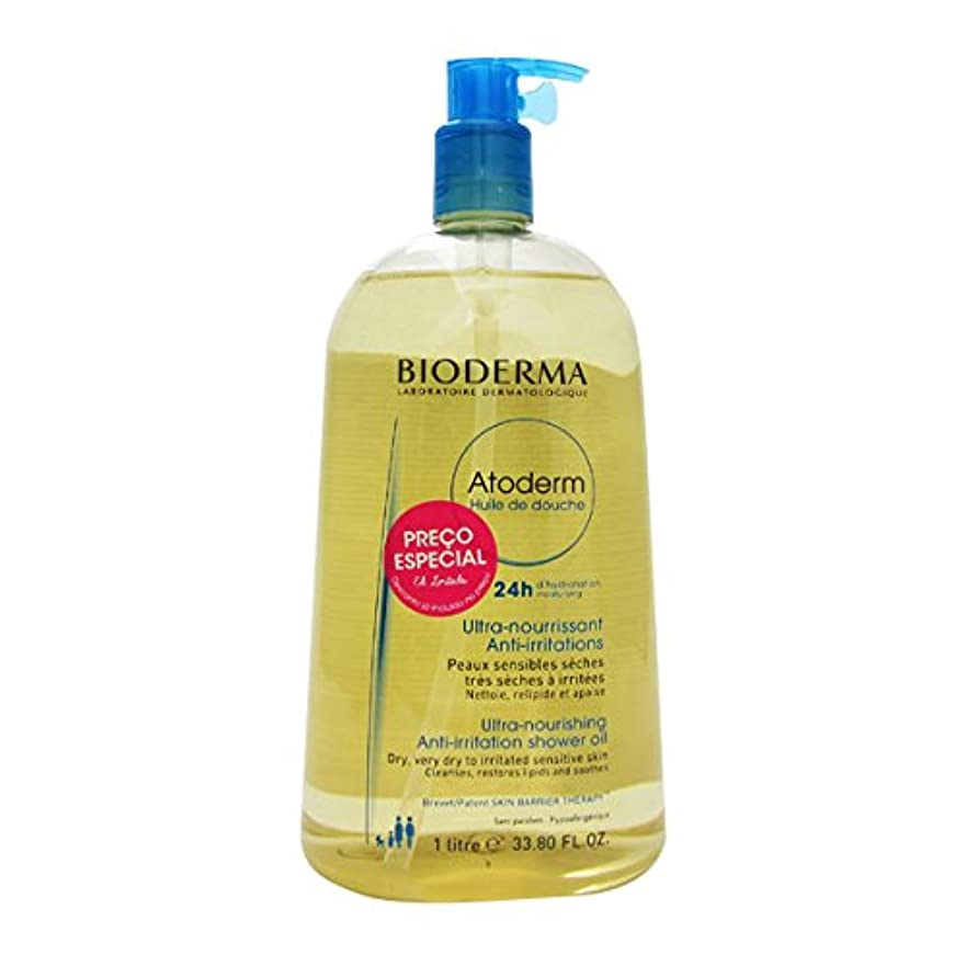 裸母性誇大妄想Bioderma Atoderm Shower Oil 1000ml [並行輸入品]